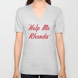 """Help Me Rhonda"" Unisex V-Neck"