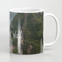 A different view of The Great Wall of China Coffee Mug
