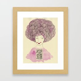 Madame Rose Framed Art Print