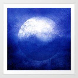 Circle Composition V Art Print