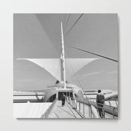 Milwaukee Art Museum Architecture Photography Art Print Metal Print