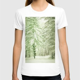 Winter Pine Trees T-shirt