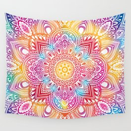 Madala Ombre Colorful Wall Tapestry