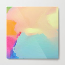 Abstract color Metal Print