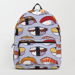 Nigiri Sushi Pattern Backpack