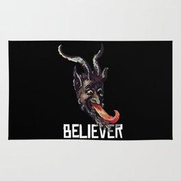 Krampus Believer Gruss Vom Merry Christmas Demon Rug