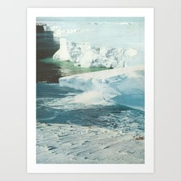 The Pace Is Glacial Art Print