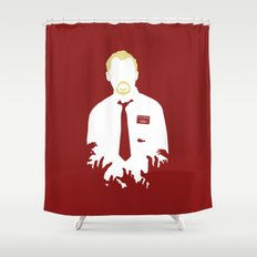 You've Got Red On You Shower Curtain