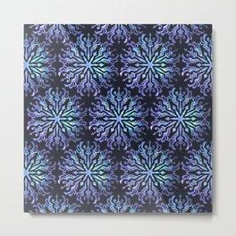 Aura Guidance Mandala Pattern Metal Print
