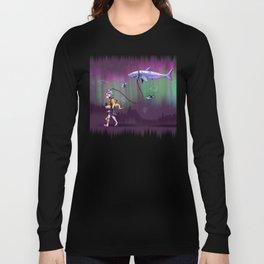 Aurora's Night Walk Long Sleeve T-shirt