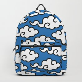 Modern Popart Summertime Clouds - retro ethnic tribal aztec 80s 90s pop-art minimal nature tropical Backpack
