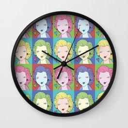 Cute Marylins Wall Clock