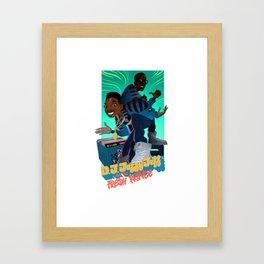 The Brand New Funk Framed Art Print