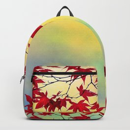 Red Maple Backpack