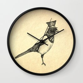 Hello Mister Magpie Wall Clock