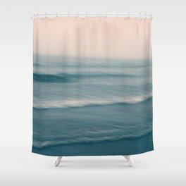 Soft wave Shower Curtain