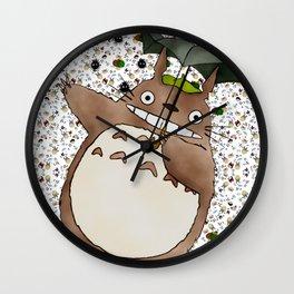 Totoro&SootSprites Wall Clock