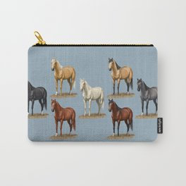 Horse Common Solid Coat Colors Chart Carry-All Pouch