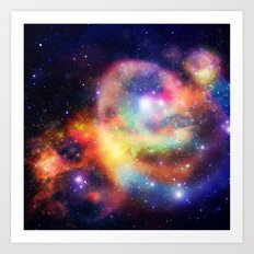 nebula vortex Art Print