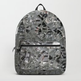 Silvery Glass and Mirrors Backpack