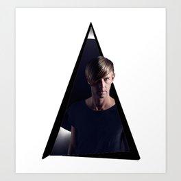 Youtriangle ∆ Richie Hawtin Art Print