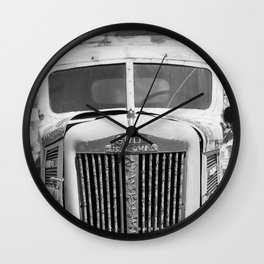 God is Love Vintage Truck, Salvation Mountain Wall Clock