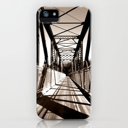 Shadowed Bridge iPhone Case