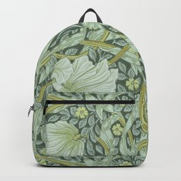 William Morris, Art nouveau pattern, beautiful art work, fabric pattern, belle époque,victorian,flor Backpack