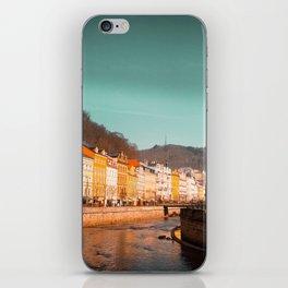 Karlovy Vary cityscape iPhone Skin