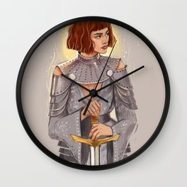 'Joan of Arc' / Zendaya Wall Clock