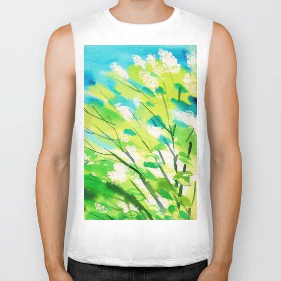 Tree in bloom ❤ Biker Tank