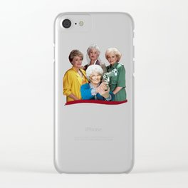 Golden Girls- Thug Life Clear iPhone Case