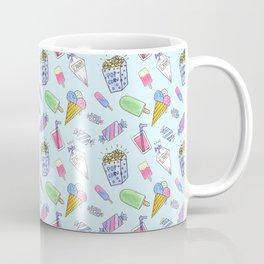 Cute candy and ice-cream pattern Coffee Mug