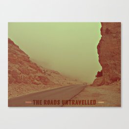 The Roads Untravelled Canvas Print