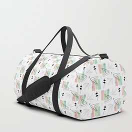Retro Boom Wedge - Black Pastel Duffle Bag