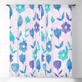 Floral #8 Blackout Curtain