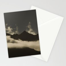 up in the mountains, down on my mind Stationery Cards