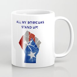 Boricuas Stand Up Coffee Mug