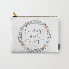 Courage Dear Heart Carry-All Pouch