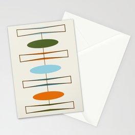 Mid-Century Modern Art 1.2 Stationery Cards