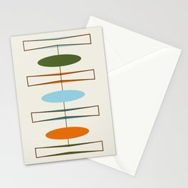 Mid-Century Modern Art 1.2 Stationery Cards