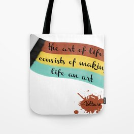 The art of life Tote Bag
