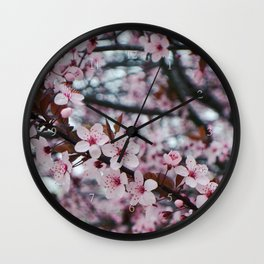 cherry plum confection Wall Clock