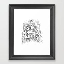 Hausmannian Cuddle Framed Art Print