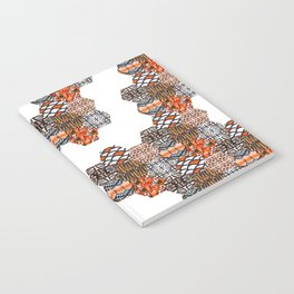 Tribal Collage Notebook