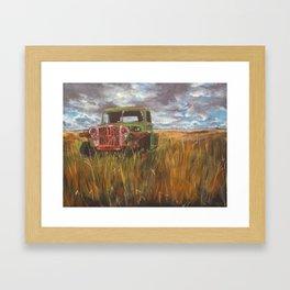 Farm Safari Framed Art Print