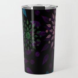 Mandala Splatter Craze Travel Mug