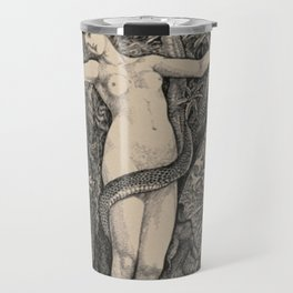 Eve And The Serpent Travel Mug