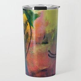 Sumi abstract Travel Mug