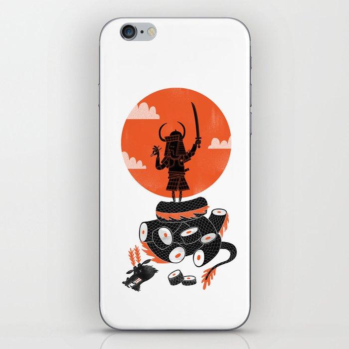 Samurai Sushi iPhone Skin